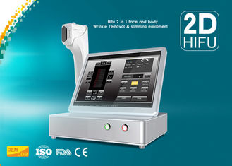 Cina 1 - 11 Baris 3D Hifu Face Lifting Machine Handpieces Standar 3mm / 4.5mm pemasok