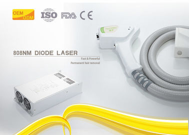 Cina Respon Cepat 808nm Diode Laser Hair Removal Machine Denial Of Kelelahan Visual pemasok