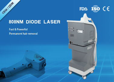 Cina Mesin High Power Medis Laser Hair Removal 500W 808nm Panjang Gelombang pabrik