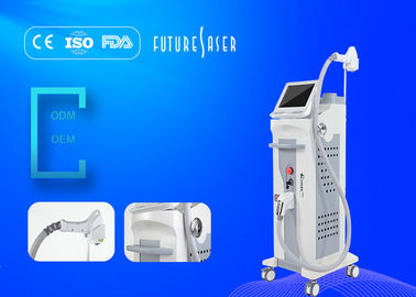 Cina Big Spot Size Facial 808nm Diode Laser Hair Removal Machine 10ms - 400ms Duration Pulse pabrik