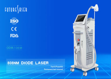 Cina TEC Pendinginan 808nm Diode Laser Hair Removal Machine 500W Daya 10 Bar Laser FJ500A Distributor